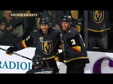 Golden Knights' Karlsson scores natural hat trick in 2nd period