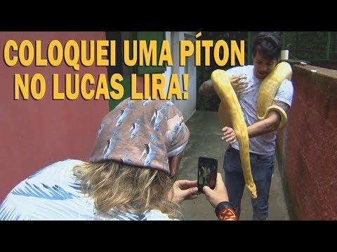 RECEBI O LUCAS LIRA EM CASA! | RICHARD RASMUSSEN