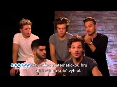 One Direction Answers Fan Questions (CZ Titulky)
