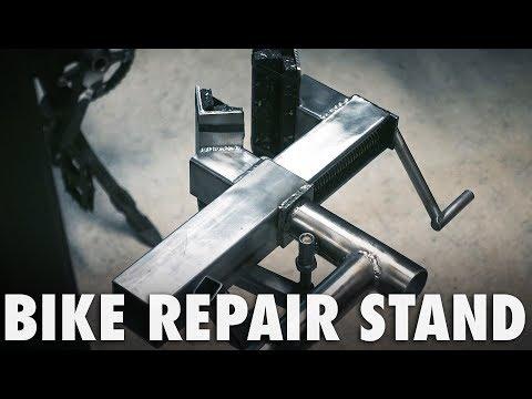Heavy Duty Bike Repair Stand / Lift Crane
