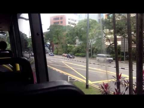 My bus travel in Singapore service 65. Very Short duration.       Mostly cover macperson,circuit Rd