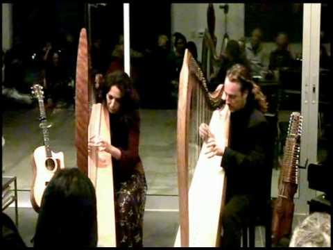 Lisa Lynne & Aryeh - Harp duo -Carol of the Bells