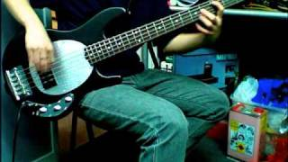 (Bass Cover) Sadus - Aggression  (Part of Riff)