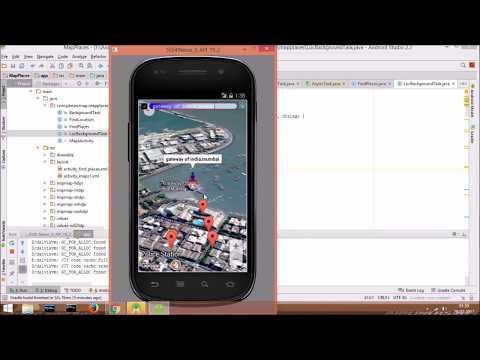Android Development Tutorial - Google Nearby Places part 4