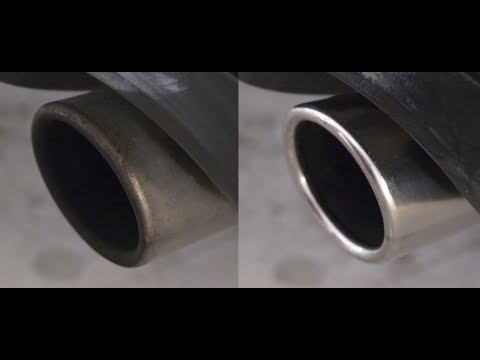 How to clean your exhaust tips.
