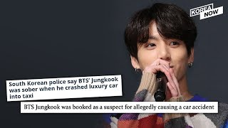 BTS Jungkook booked as a suspect for alleged involvement in car accident
