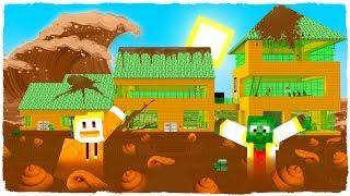 La Casa De Manucraft Se Llena De Caca 😱 - Minecraft