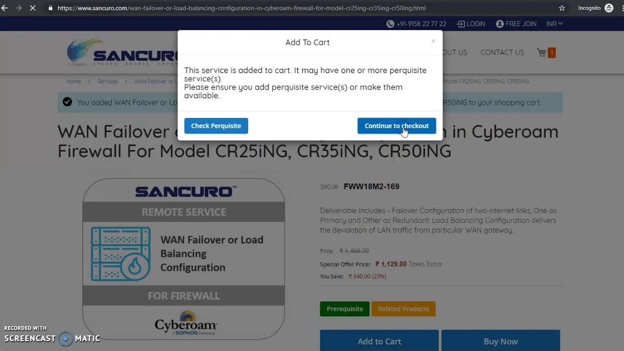 How To Configure Cyberoam Firewall?