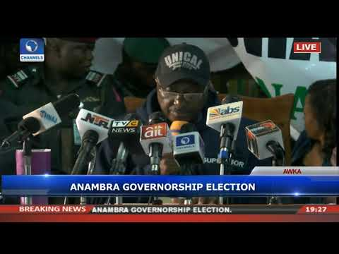 INEC Declares Obiano Winner Of Anambra Governorship Election
