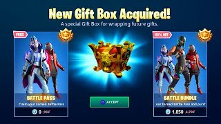 "How to ""GIFT SEASON X BATTLE PASS"" in Fortnite! (New FREE SEASON X BATTLE PASS Gifting System)!"