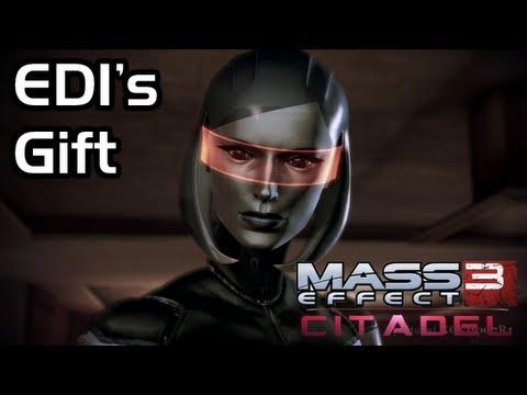 Mass Effect 3 - Citadel DLC - Invite EDI up to Apartment (EDI's Gift)