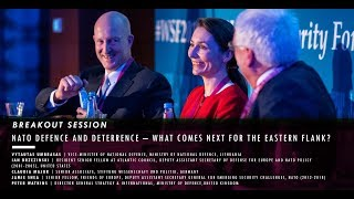 WSF2018 BREAKOUT SESSION: NATO Defence and Deterrence – what comes next for the Eastern Flank?