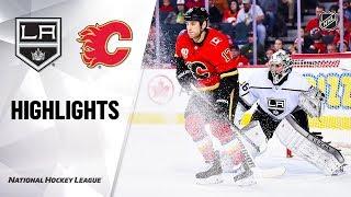 NHL Highlights   Kings @ Flames 12/07/19