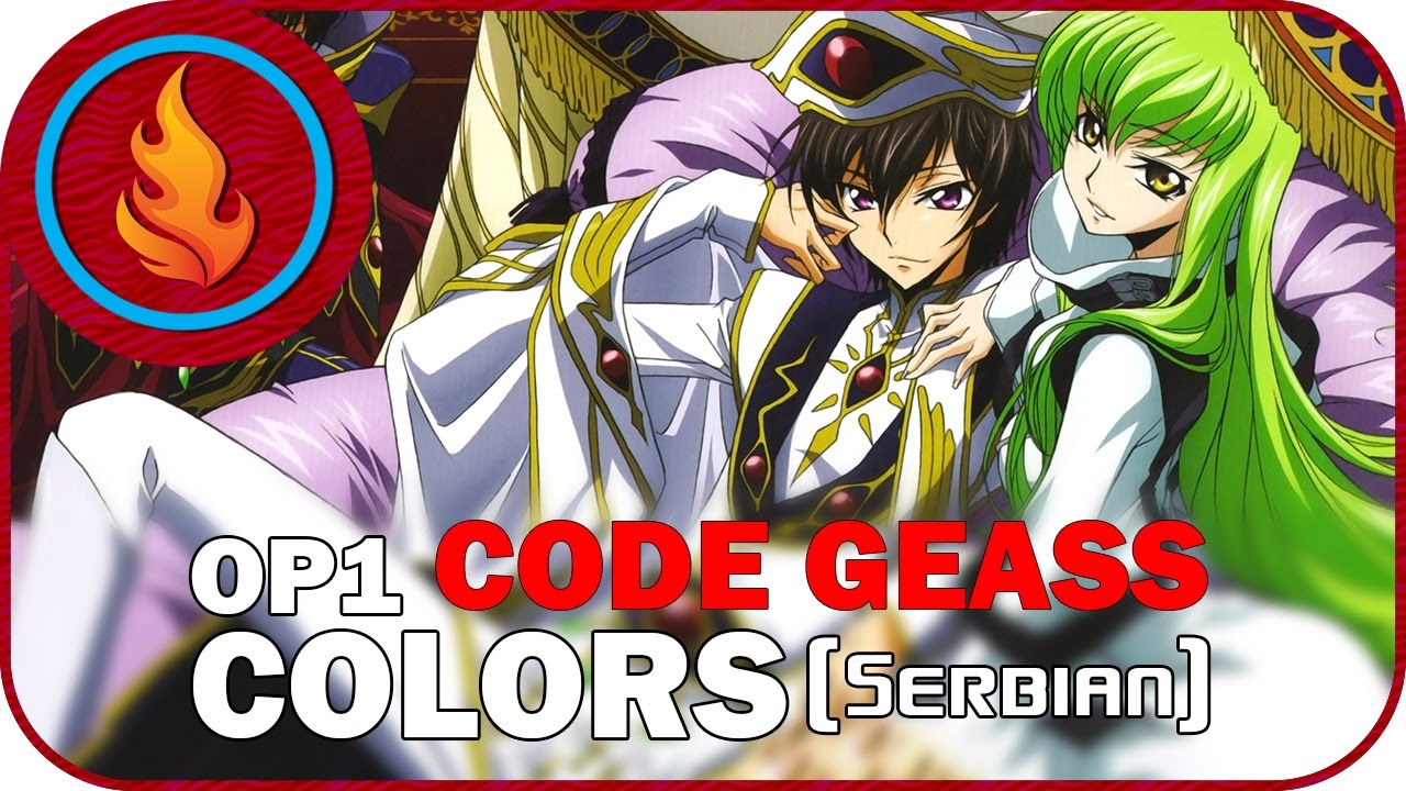 [RapidDub] Code Geass OP1 - COLORS (SERBIAN)