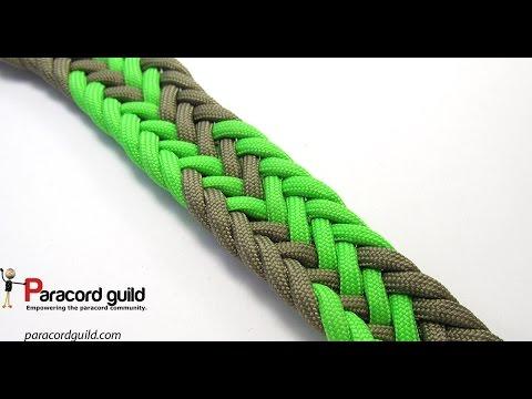 11 strand flat braid- gaucho style