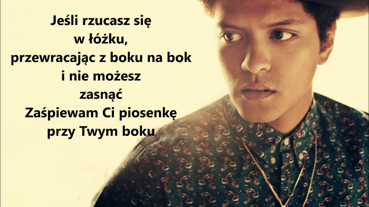 Download Bruno Mars Count On Me TŁUMACZENIE PL