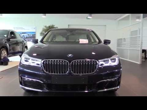 BMW 7 Series 2016 Start Up, In Depth Review Interior Exterior