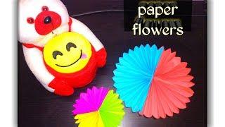 #paperflower #flowermaking How to Make beautiful flowers with paper? |  | diy