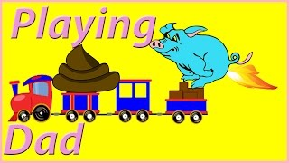 PLAY,  LOAD AND Reload TOY-TRAIN,  for YOUNGEST children age from 1 to 4-year -old
