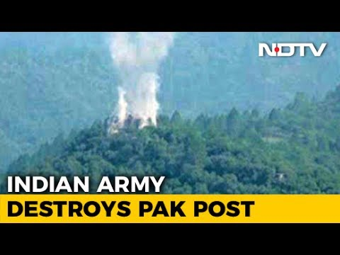 Indian Army Destroys Pak Post Near Line Of Control