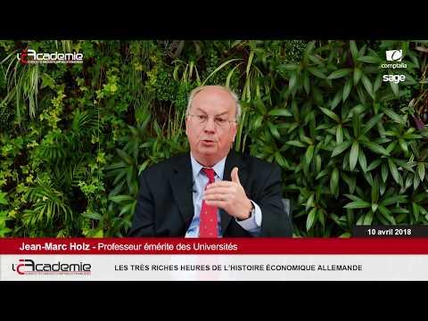 Les Entretiens de l'Académie : Jean-Marc Holz