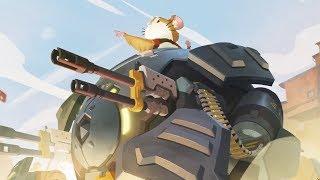 OVERWATCH Animated Short Movie (NEW Hero Hammond/Wrecking Ball) - All Cutscene Movie