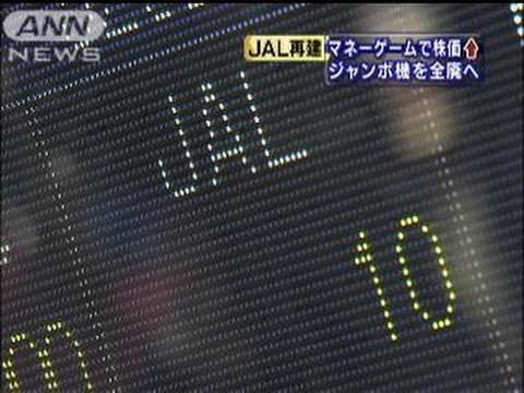 の 株価 jal