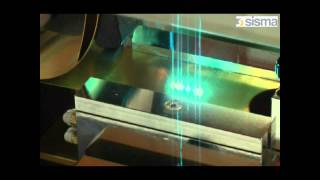 Sisma laser cutting with plate feeder option