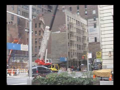 OMG! Car Hit And Flipped By Wrecking-Ball In NYC!