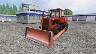 Farming Simulator 15 обзор ДТ-75(скачать)