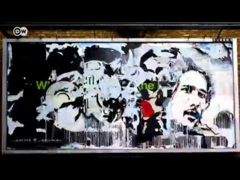 Portuguese Street artist Vhils| Euromaxx - Street Artists