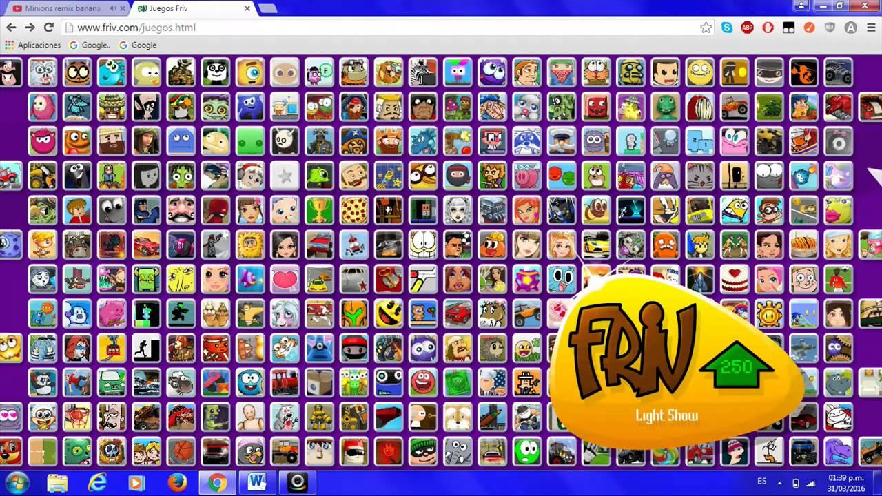 Juegos Escondidos En Friv 3 Youtube