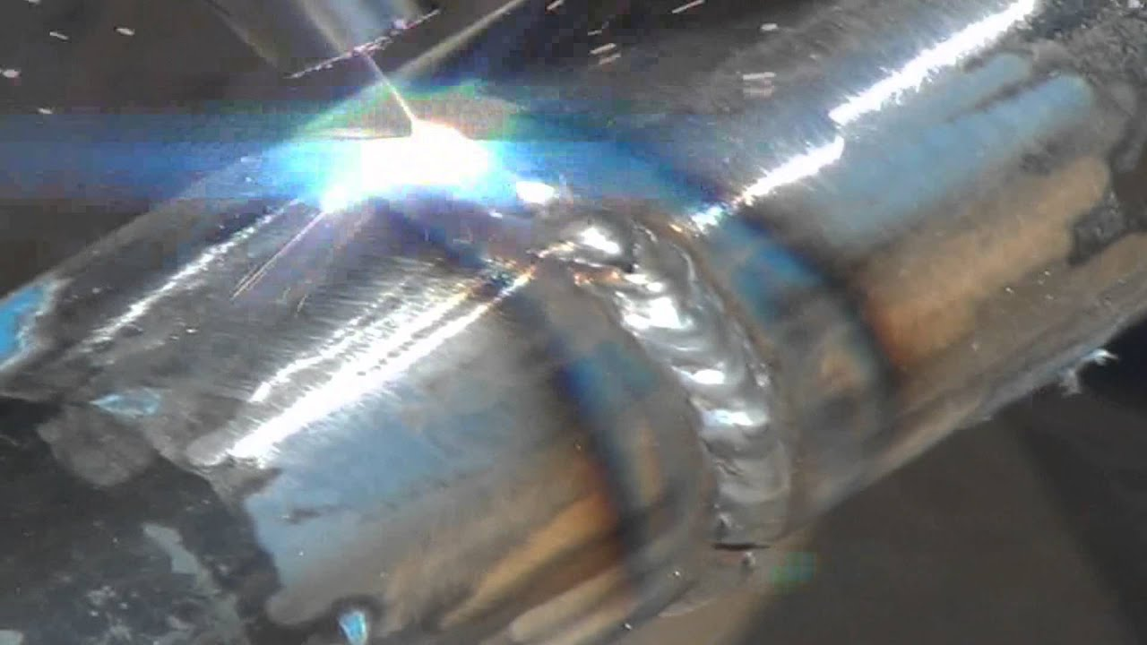How To Weld Pipe With A Mig Welder - YouTube