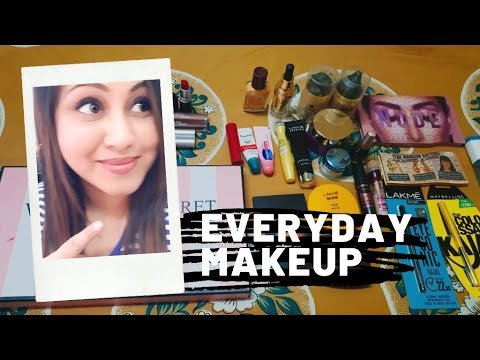 My Makeup Collection 2019l My Everyday Makeupl Affordable Makeup for Beginners thumbnail