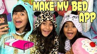 Make My Bed App : SKETCH COMEDY // GEM Sisters