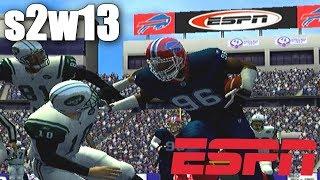 PLAYOFF RUN - ESPN NFL 2K5 BILLS FRANCHISE VS JETS S2W13