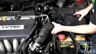 2003-2007 Honda Accord Throttle body cleaning
