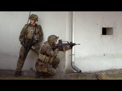 Objektschützer der Bundeswehr