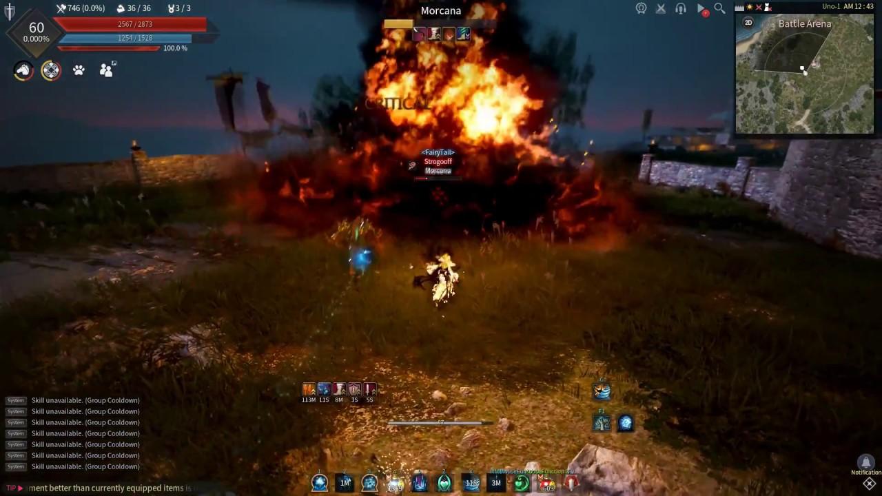 Black Desert Witch vs Mystic PVP