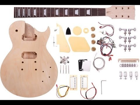 Unboxing Harley Benton – Gibson Style – Kit Single Cut | On The Cheap