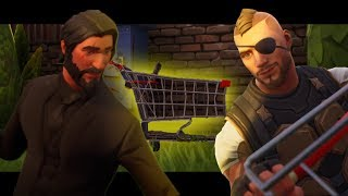 The Shopping Cart is Made to Make Friends! - A Fortnite Short Film