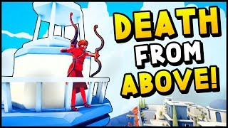 TABS - DEATH FROM ABOVE! The New Units Are Unstoppable Totally Accurate Battle Simulator
