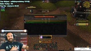 BUFFJHEERA HITS 120 (Best Level Up Ever?! xD) - WoW BFA 8.1.5 Kul Tiran Monk