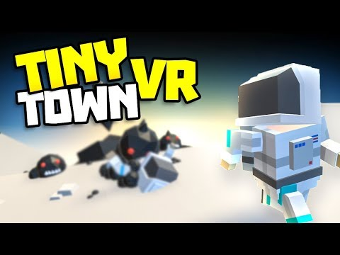 ATTACK OF THE BLACK GOO MONSTERS - Tiny Town VR Gameplay Part 17 - VR HTC Vive Gameplay Tiny Town