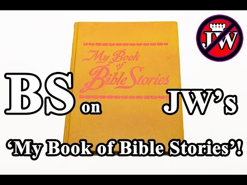 Jehovah's Witnesses: NOT My Book of Bible Stories 09 - BS on David & Goliath, and King Solomon!