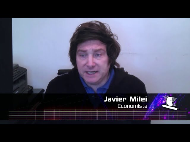 (Adelanto) Javier Milei, economista - Ciudadanos 09 08 2020