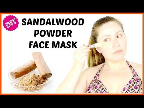 DIY Sandalwood Powder Face Mask