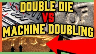 WHAT IS A DOUBLE DIE COIN? LOOK FOR THESE RARE ERROR COINS WORTH MONEY!!
