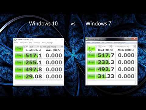 Windows 10 Vs Windows 7 Test Disk
