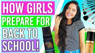 How Girls Get Ready For Back To School! / Preparing for School 2016!